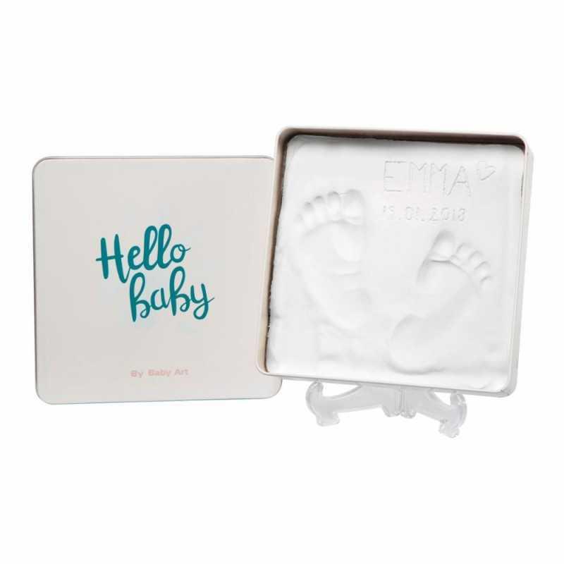 Baby Art Magic Box Vauvan jalanjäljet muistolaatikko Baby Art - 1
