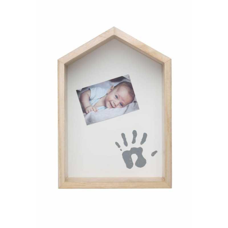 Baby Art Shelf House Vauvan kädenjälki & valokuvakehys Baby Art - 1