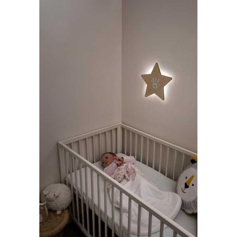 Baby Art Wall Light Vauvan kädenjälki & tähtiyövalo Baby Art - 4