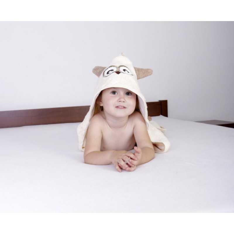 BabyMatex Jimmy Huppupyyhe 80*80cm, Beige BabyMatex - 4