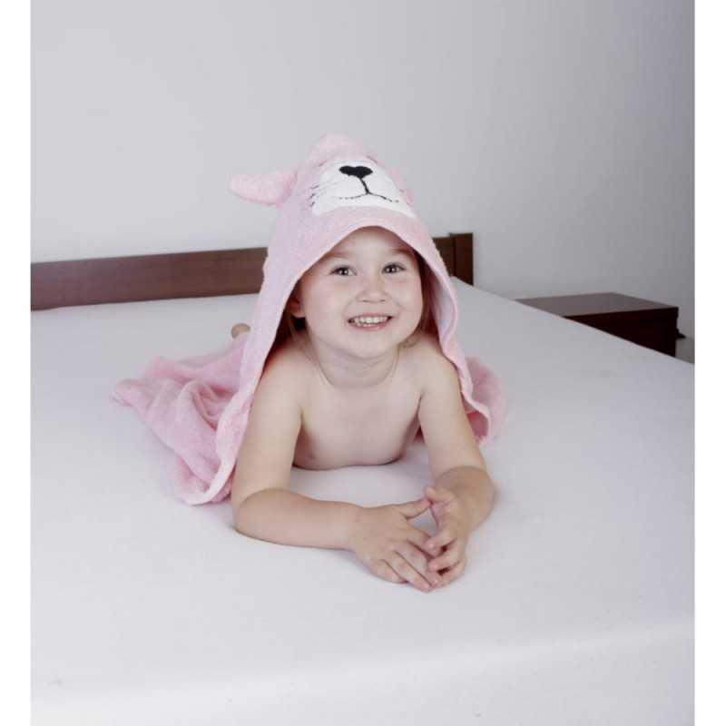BabyMatex Jimmy Huppupyyhe 80*80cm, Pinkki BabyMatex - 4