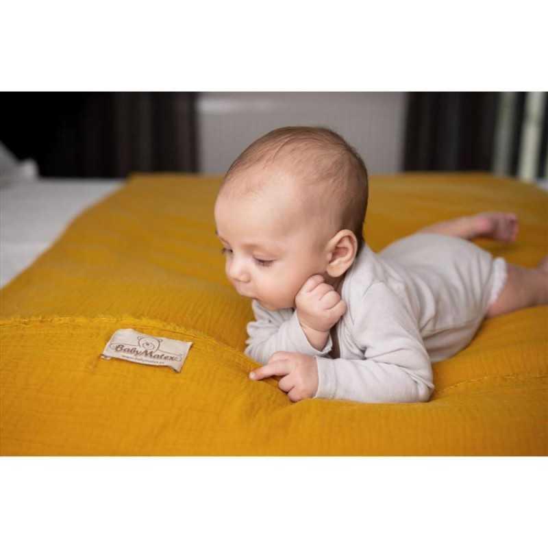 BabyMatex Muslin Pussilakanasetti, Keltainen BabyMatex - 4