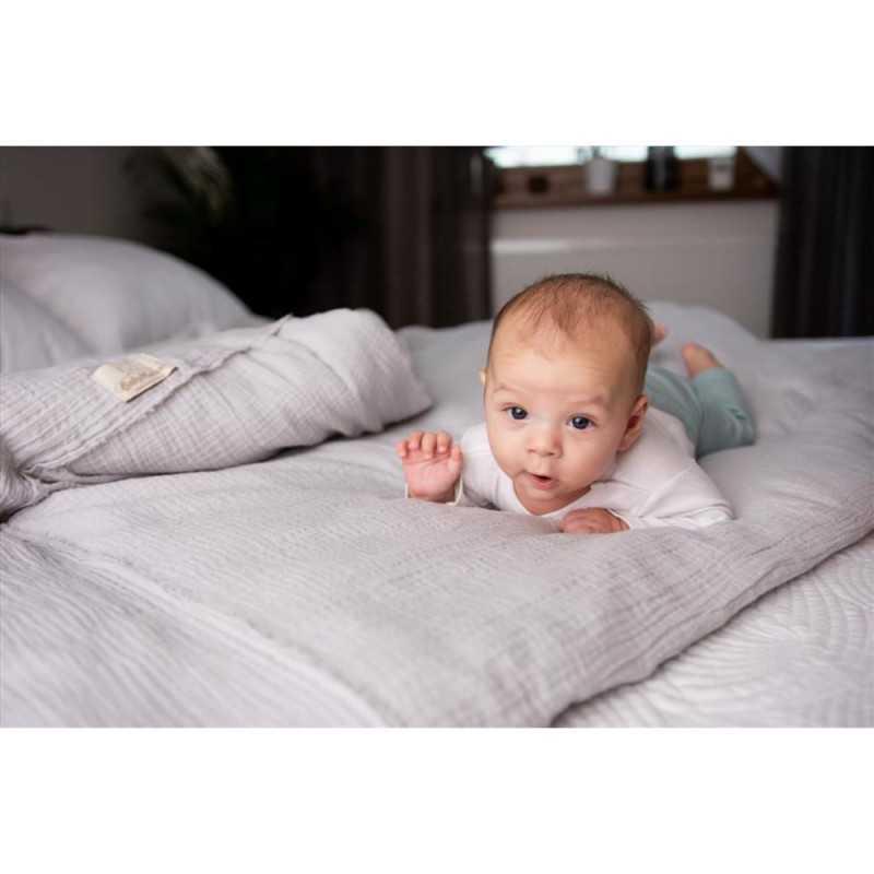 BabyMatex Muslin Pussilakanasetti, Vaaleanharmaa BabyMatex - 4
