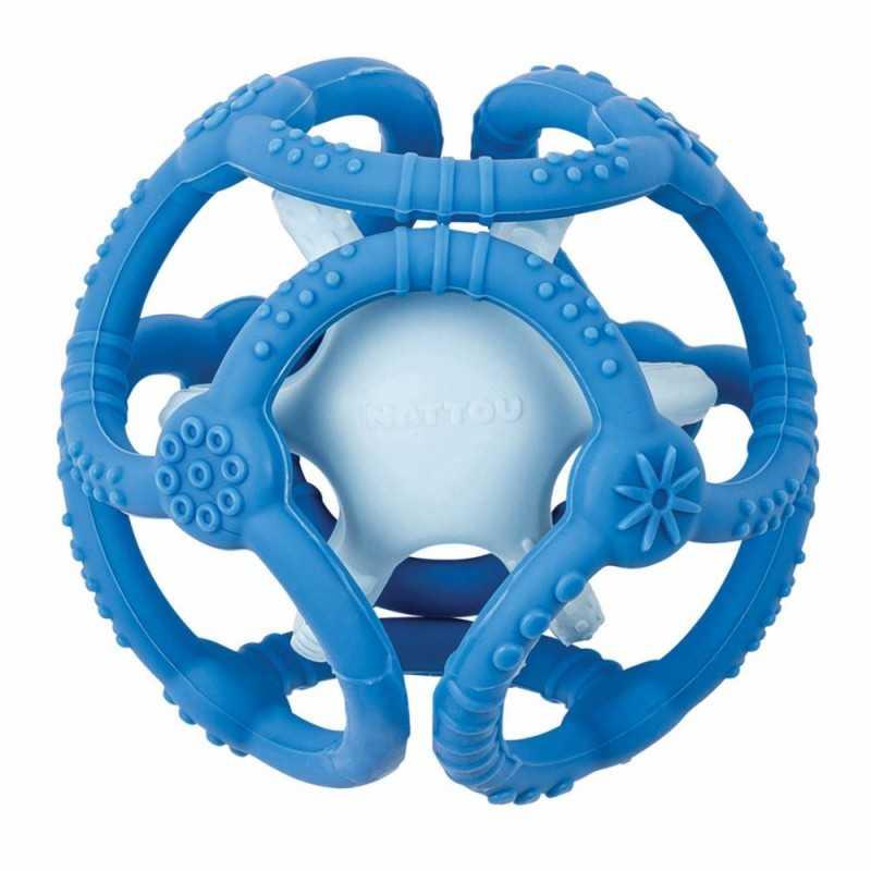 Nattou Vauvan Pallohelistin, sininen Nattou - 1
