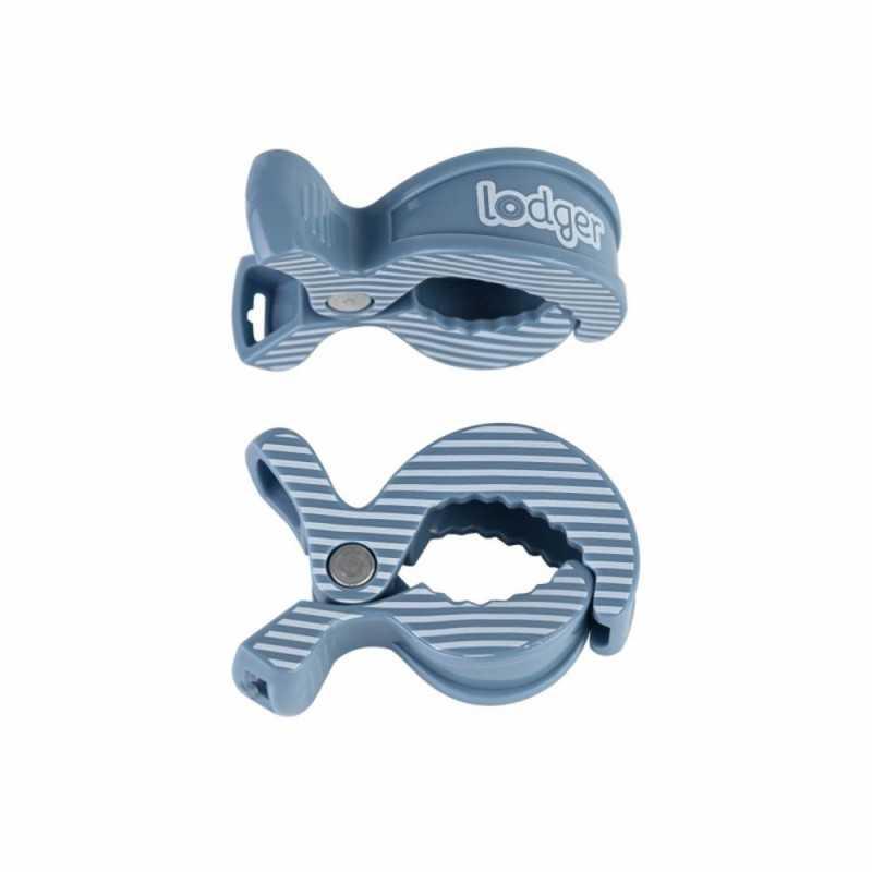 Lodger Harso Klipsi 2kpl, Ocean Stripe Lodger - 1