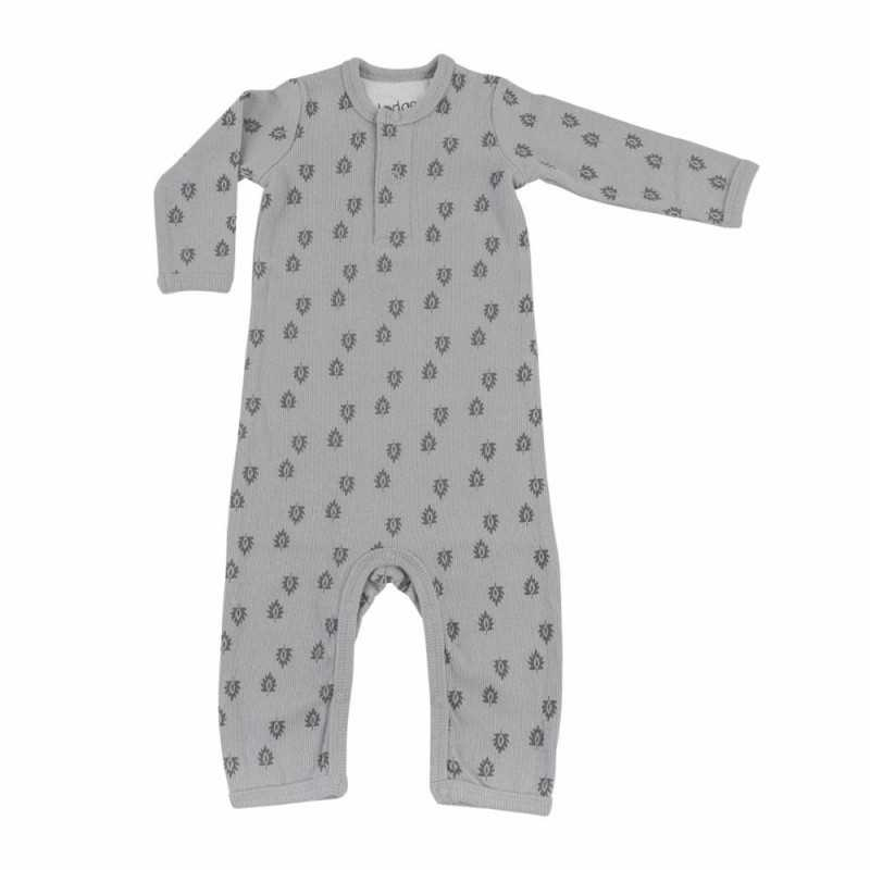 Lodger Jumpsuit Nomad Rib Print, Sharkskin harmaa, 68cm Lodger - 1
