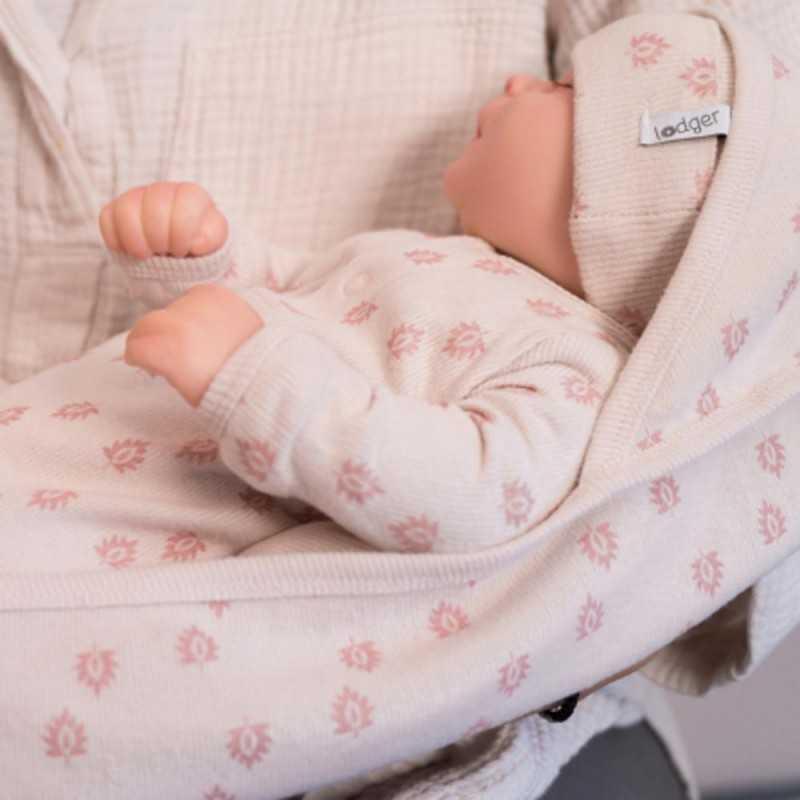 Lodger Vauva Huopa 100*100cm, Tan rosa Lodger - 6