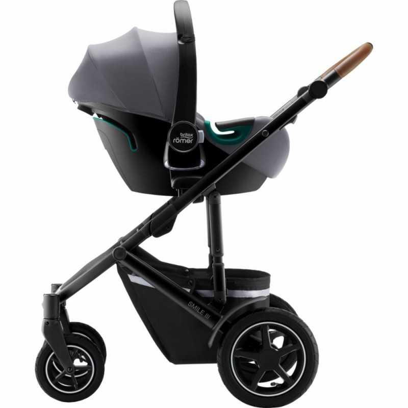 Britax Baby-Safe iSENSE turvakaukalo, Frost Grey Britax - 9