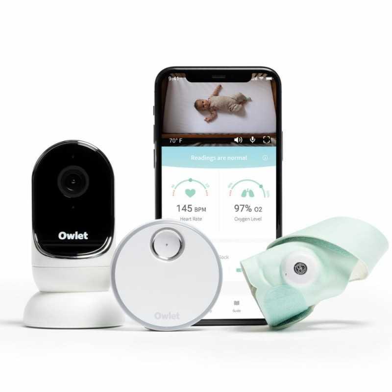 Owlet Monitor Duo 3 itkuhälytin + älysukka Owlet - 1