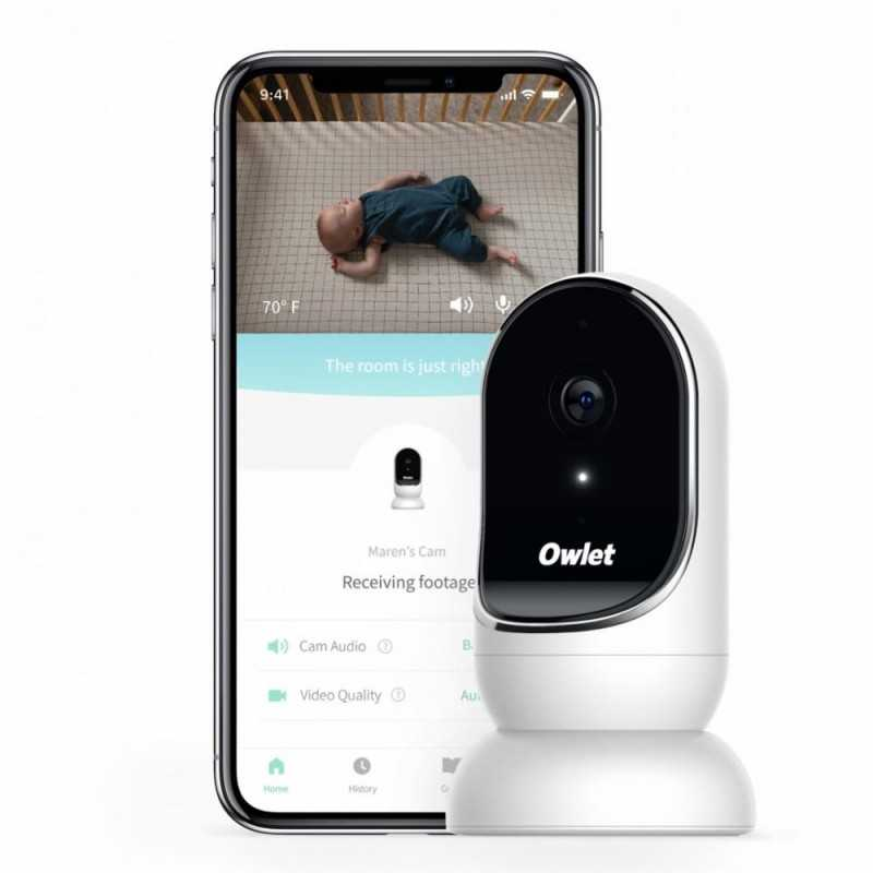 Owlet Cam Smart HD Videoitkuhälytin Owlet - 1