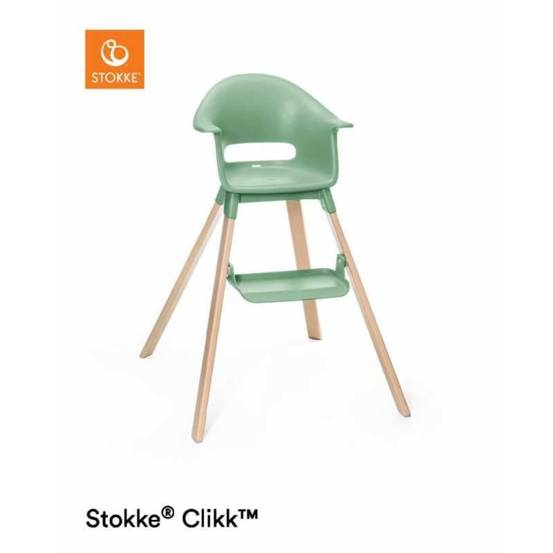 Paketti Stokke Clikk syöttötuoli Clover green + ezpz by Stokke ruokailualusta Stokke - 2