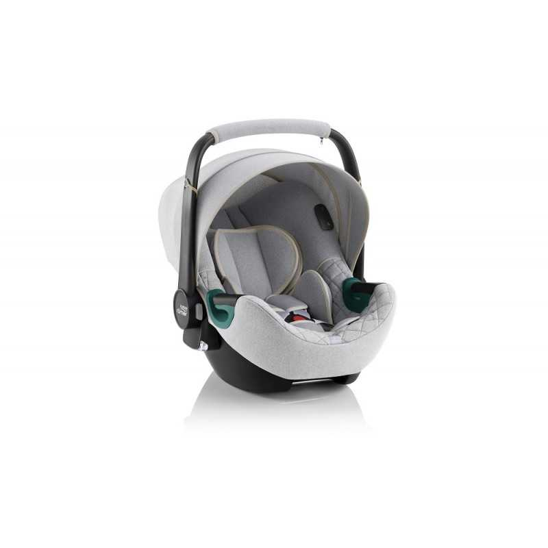 Paketti Britax Smile 3 Yhdistelmävaunu, Nordic Grey + Baby Safe iSENSE Nordic Grey Britax - 5