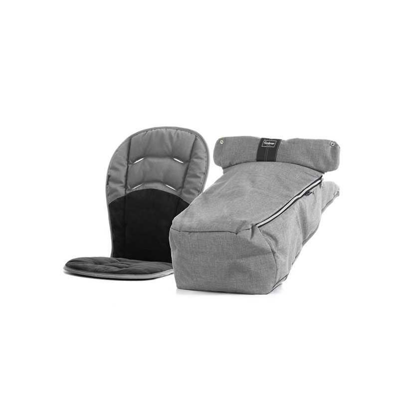 Emmaljunga Talvi-istuinkangas Ergo 2-osaa, Lounge Grey Emmaljunga - 1