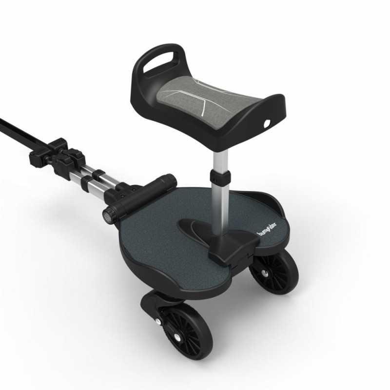 Bumprider Seat+ istuinlauta seisomalautaan, Musta Bumprider - 3