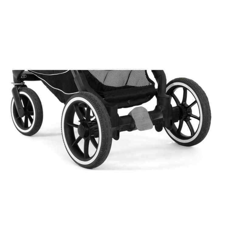 Paketti Emmaljunga NXT90F Select 3.0 yhdistelmävaunu Black, Lounge Grey Emmaljunga - 2