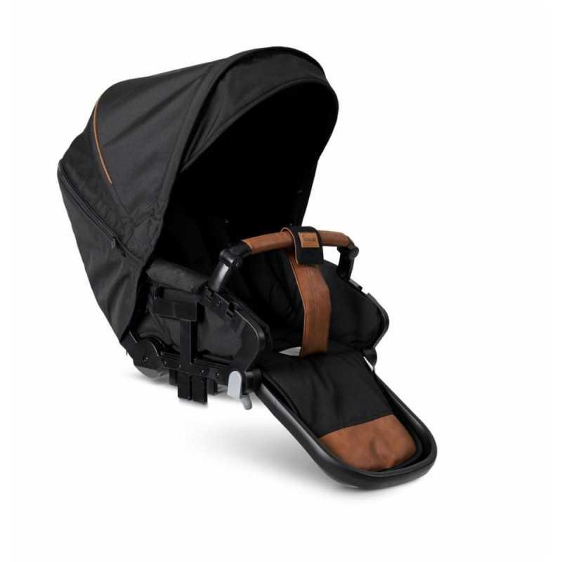 Paketti Emmaljunga NXT90F Select 3.0 yhdistelmävaunu Black Outdoor, Outdoor Black Emmaljunga - 5