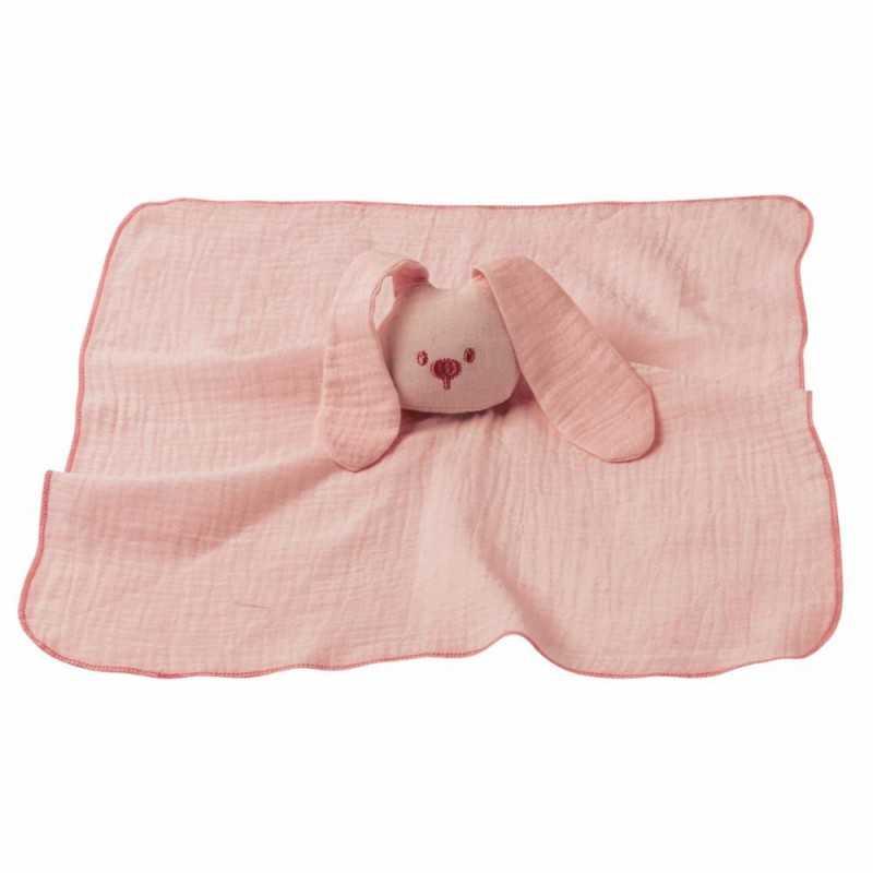Nattou Doudou Swaddle, Lapidou old pink Nattou - 1